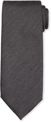 Tom Ford Men's Hopsack Pindot Tie