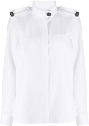 Maison Rabih Kayrouz Button-Embellished Shirt