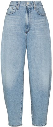AGOLDE High-Waist Balloon Tapered Jeans