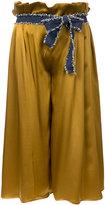 Gwen Salakaia - wide leg culottes - women - Silk/Polyester - 0