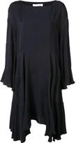 Chloé loose fit ruffled dress