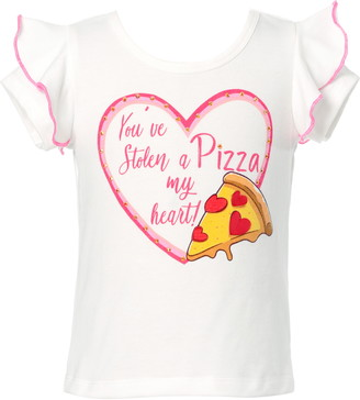Truly Me Kids' Pizza Heart Graphic Tee