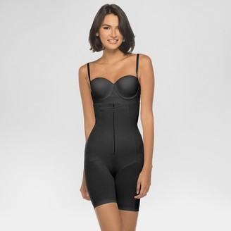 Annette Woen's Faja Extra Fir Control High Waisted id-Thigh Shaper with Invisible Zipper -