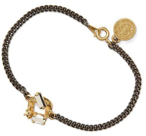 Marc by Marc Jacobs Embellished Tiny Bracelet