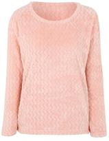 George Tickled Pink Textured Zig-Zag Pyjama Top