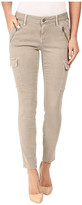 Mavi Jeans Juliette Skinny Cargo in Light Taupe Twill