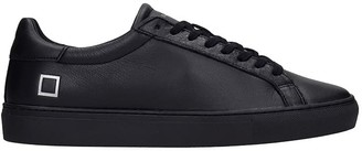D.A.T.E Newman Sneakers In Black Leather