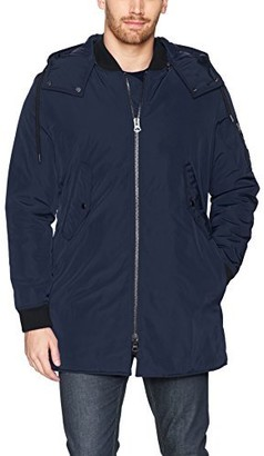 BOSS ORANGE Men's Oharvey Long Padded Bomber Jacket