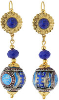 Jose & Maria Barrera Cloisonné Drop Earrings