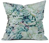 DENY Designs Chelsea Victoria My Desert Blue Throw Pillow