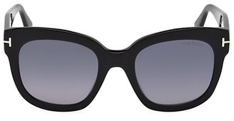 Tom Ford Beatrix 52MM Polarized Lens Oversize Square Sunglasses