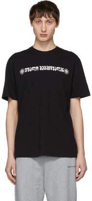 Vetements Black God Save Us T-Shirt