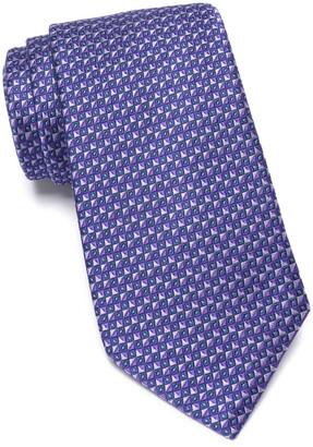 Nordstrom Pederson Silk Geo Print Tie