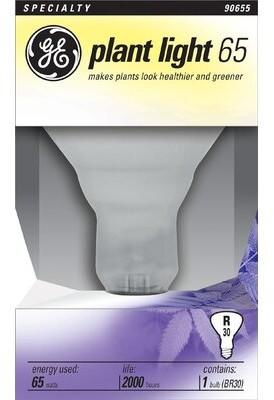 GE Frosted E26/Medium Light Bulb Wattage: 65W