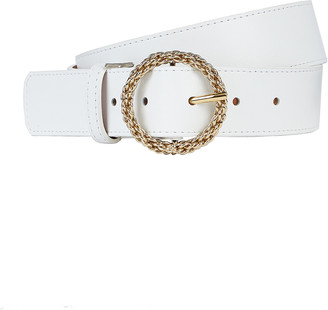 MAISON BOINET Nappa Leather Hip Belt