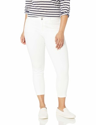 Skinnygirl Women's Plus Size The Skinny Ankle in Injeanious Stretch Denim
