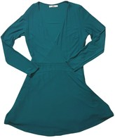 MANGO Green Dress for Women