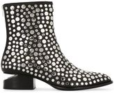 Alexander Wang studded boots - women - Leather/Metallic Fibre - 37.5