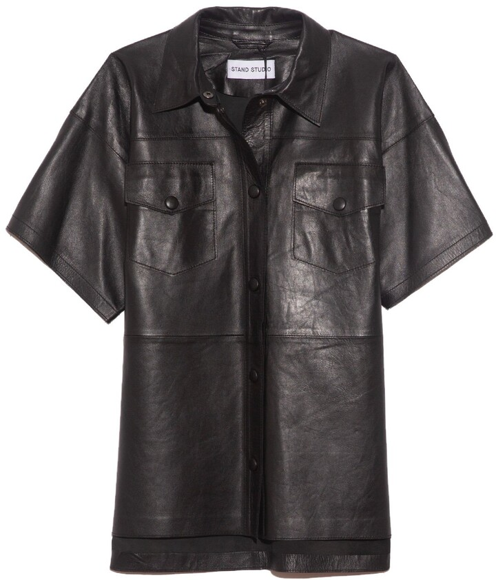 Stand Kelly Shirt in Black