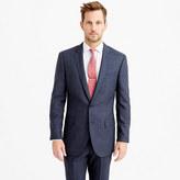 J.Crew Ludlow suit jacket in windowpane Italian wool