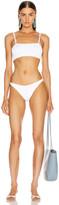 Hunza G Gigi Bikini in White | FWRD