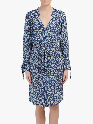 Pyrus Bailey Animal Print Dress, Blue