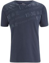 Smith & Jones Men's Reredox Print T-Shirt - Navy
