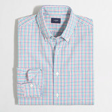 J.Crew Factory Tall washed shirt in mini-tattersall