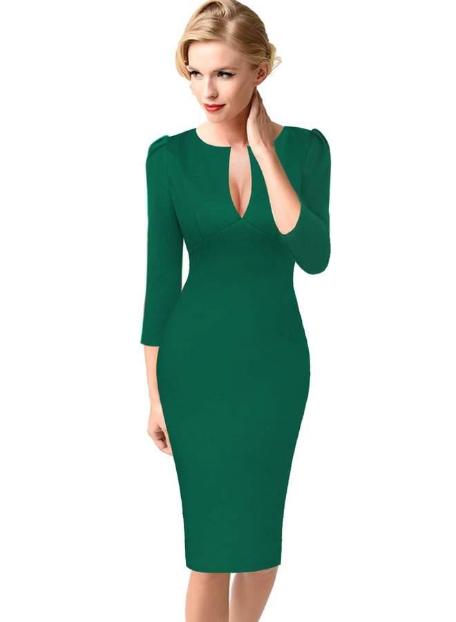 24882bbaf9da Green Bodycon Cocktail Dresses - ShopStyle Canada