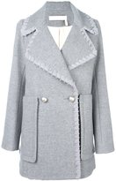 See by Chloe ribbon trim coat