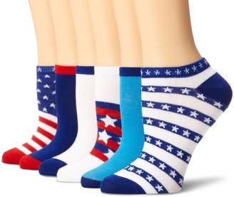K. Bell Socks K. Bell Women's 6 Pack Novelty Crew Socks
