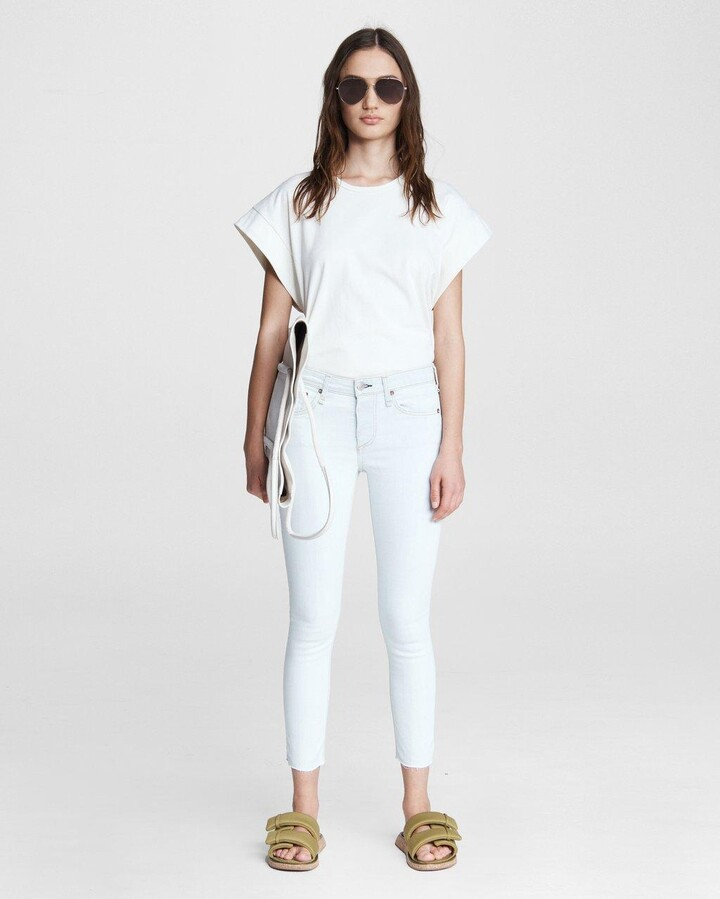 Thumbnail for your product : Rag & Bone Cate mid-rise skinny - ditch plains