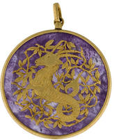Buccellati Amethyst Capricorn Pendant