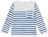 Petit Bateau Whimsical boys sailor shirt