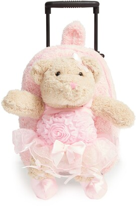 Popatu 'Trolley - Ballet Bear' Rolling Backpack