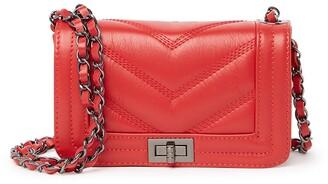 Persaman New York Seamed Chain Strap Satchel Bag