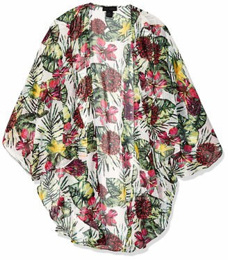 Steve Madden Women's Seriously Tropic LUX Kimono