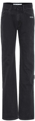 Off-White Mid-rise flared jeans