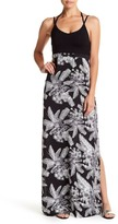 Hurley Ruby Sleeveless Print Maxi Dress