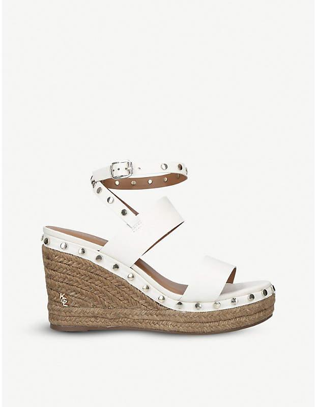 ababbf84110 London Alma leather wedge sandals