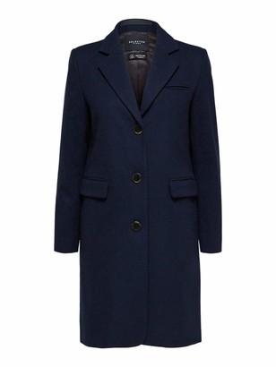 Selected Women's SLFELINA Wool Coat B NOOS