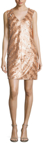 Rachel Roy Striped Sequin Shift Dress