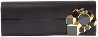 Pierre Hardy Black Leather Clutch bags