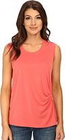 BCBGMAXAZRIA Women's Gesele Sleeveless Top with Twist Front