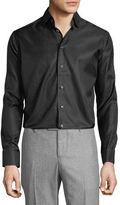 Eton Tonal-Dot Long-Sleeve Sport Shirt