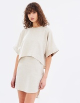 Gary Bigeni Archer Oversized Layered Dress