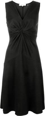 Dvf Diane Von Furstenberg twisted knot A-line dress