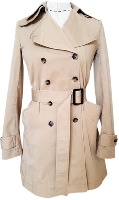 Theory Beige Cotton Trench coats