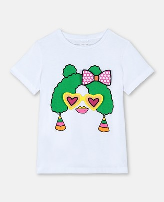 Stella Mccartney Kids Stella McCartney cotton t-shirt with badges