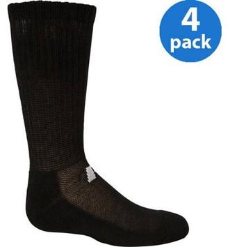 Russell Boys' Comfort Performance Dri-Power 360 Crew Socks - 4 Pack